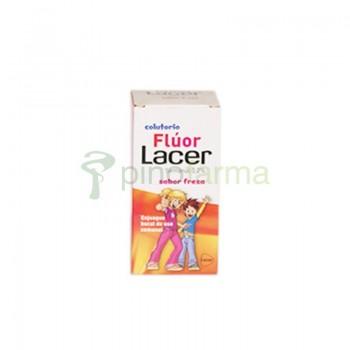 LACER COLUTORIO FLUOR SEMANAL 0,2 %  FRESA 10