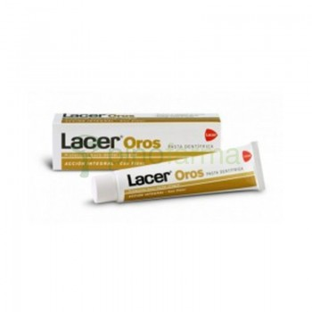 LACER OROS 2500PPM PASTA DENTAL  125 ML