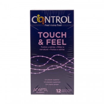 CONTROL LE CLIMAX TOUCH & FEEL PRESERVATIVOS