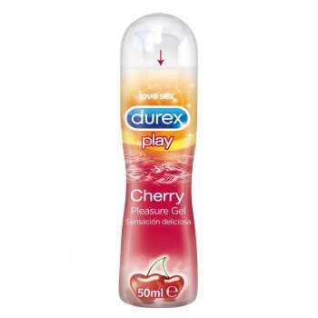 DUREX PLAY CHERRY  PLEASURE GEL LUBRICANTE HI