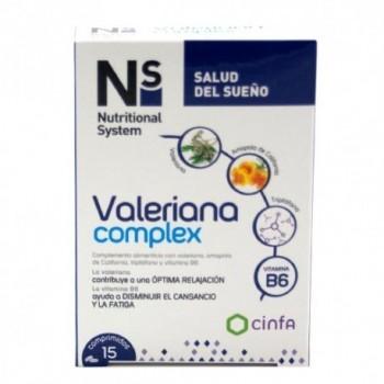NS VALERIANA COMPLEX COMPRIMIDOS  15 COMP
