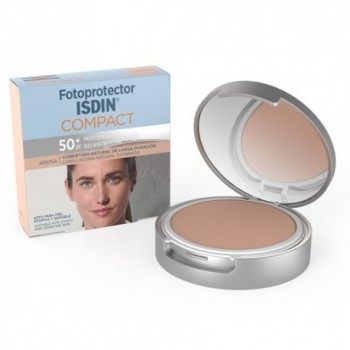 FOTOPROTECTOR ISDIN COMPACT SPF-50+ MAQUILLAJ