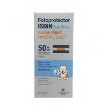 FOTOPROTECTOR ISDIN SPF-50+ FUSION FLUID MINE