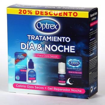 Optrex kit, tratamiento día & noche.