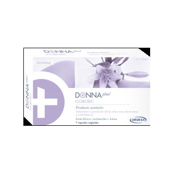 DONNA PLUS + FLOBORIC CAPSULAS VAGINALES  7 C