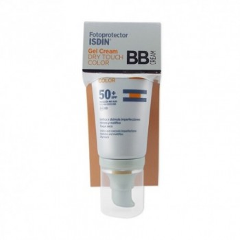 FOTOPROTECTOR ISDIN SPF-50+ DRY TOUCH BB CREAM 50 ML