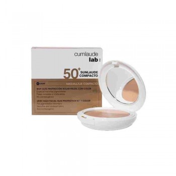 Cumlaude Sunlaude Compacto SPF 50+ Color Tono 01 Light 10 Gr