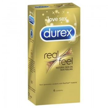 DUREX REAL FEEL PRESERVATIVO SIN LATEX