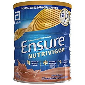 Ensure Nutrivigor chocolate 850g.