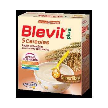 BLEVIT 5 CEREALES SUPERFIBRA, 600G
