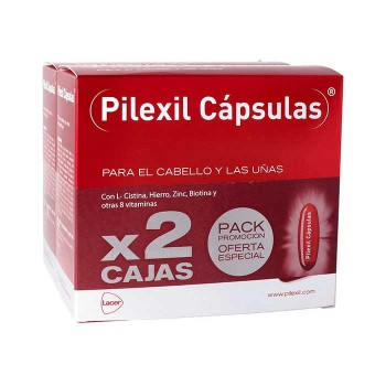 Pilexil cápsulas anticaída....