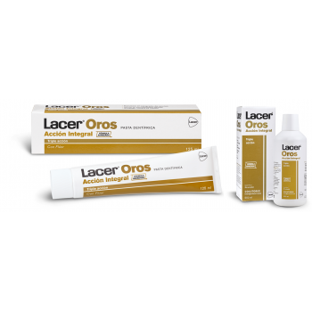 Pack Lacer Oros: Lacer Oros Colutorio 500 mL + Lacer Oros Pasta Dentífrica...